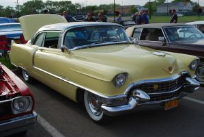 1955 CADILLAC Coupe de Ville (II) by HardRocker78