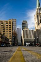 Downtown Tulsa - 8th and Boston Ave. by aheathphoto