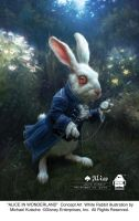 THE WHITE RABBIT - Concept art by AliceInWonderland