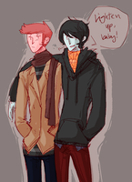 two princes by iHeartNargles