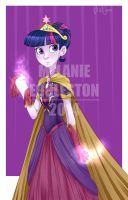 Twilight Sparkle Elsa by thepurpah