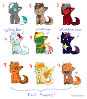 wolf adopts batch #5 by SuNnYaDoPtS