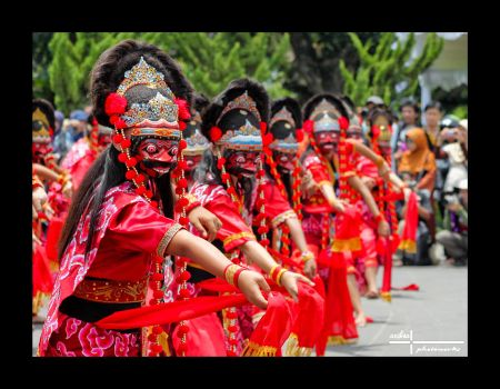 Cirebon Mask Dance by ardisas