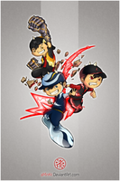 BoBoiBoy: Recipe For Chaos by aminkr