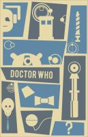 Dr. Who (Saul Bass Style) by nerdliterature