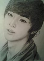 Minhyun of Nu'est (RIght-side up version xP) by jennychoi