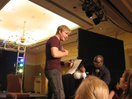 Vic Mignogna MTAC 2011 by BlackWings86