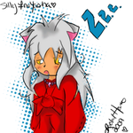 -:Sleepy InuYasha:- by RachiexPooh