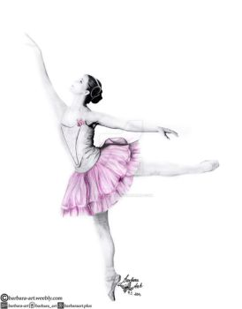 Ballerina I by barbara-art