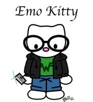 emo kitty by Bob-Rz