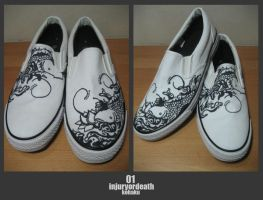 Customised Slip On 01 by injuryordeath