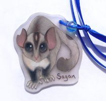 Sugar glider bookmark by SirKittenpaws