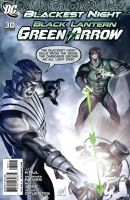 black lantern green arrow by RatedrCarlos