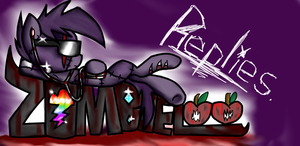 ZombieLooReplies's Banner For Tumblr by Dj-SkullLover