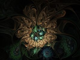 Back in The Fractal Saddle Again by MzKitty45601