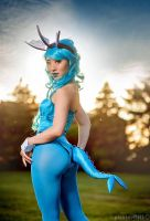 Vaporeon Bunny Suit by StellaChuu