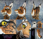 Custom Lynx *Jellybean* Partial Suit by Luminary by OurMassHysteria