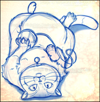 Totoro (Commission sketch) by NinjaKato