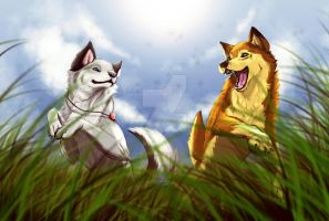Green Meadows :. Commission by SemiFloating