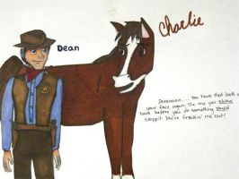 Charlie and Dean by Middlelioness