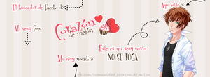 Facebook Cover #10 ~ Amour Sucre - Kentin by MichelleMegurine