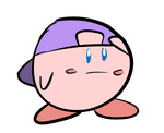 Kirby With A Backwards Cap by EvilDoctorShoe