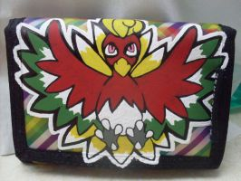 Pokemon Ho-Oh Wallet by heatbish