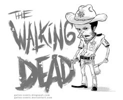 walking dead by gaton-comix
