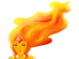 Flame Princess  by The-Bish-Of-Hyrule