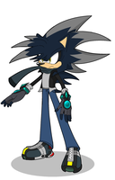 Matthew the Hedgehog by ZeroDarkness80-X