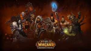 Warlords of Draenor Wallpaper     by Daerone by Daerone