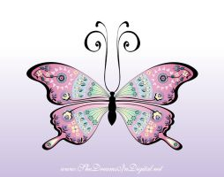Butterfly for Linda by Sya