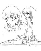 Mihai-Chan_Lineart Vers. by Azulla-00