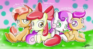 .:The Cutie Mark Crusaders:. by The-Butcher-X