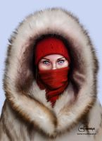 The Red Scarf by Chase-Falkenhagen