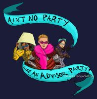 No Party like an Advisor Party by coolbyproxy