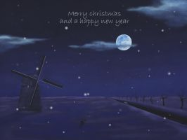 christmas card 2011 by havydragon