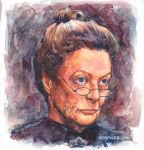 Professor McGonagall by rebekieb
