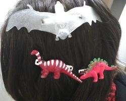 Hair Clips from art class by theonlywhitewolf