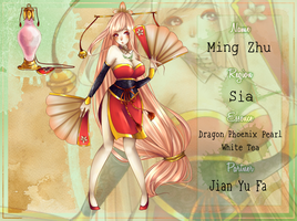 [Tea-Essence] Ming Zhu by koto-chii