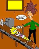 Lisa and Sideshow Bob II by Walnutwilly