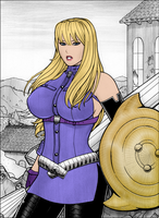 Rplatt's Selvaria Bles colored by rockman3453