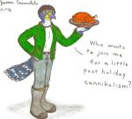 The Cannibal Falcon Strikes Again! by AnthroLoverJay