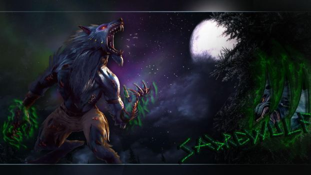 Sabrewulf Tribute by legendaryWolfman