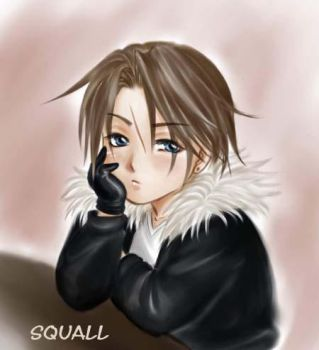 cute Squall by K-DDS