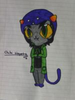 Chibi Nepeta - original by VanessaGiratina