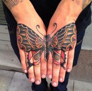 Best Hand Tattoos by tattoosboygirl