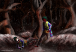 Stalked in the Snow by TheWickedWordsmith