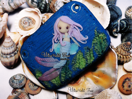 Polymer Clay -Mermaid by Crystarbor