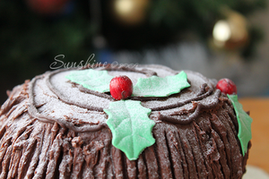 Buche de Noel top by kupenska